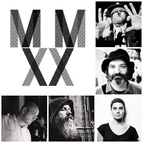 MMXX BUNDLE 2 (5 VINYLS): PALESTINE / O'ROURKE / DINEL / SANTOS SILVA / IELASI