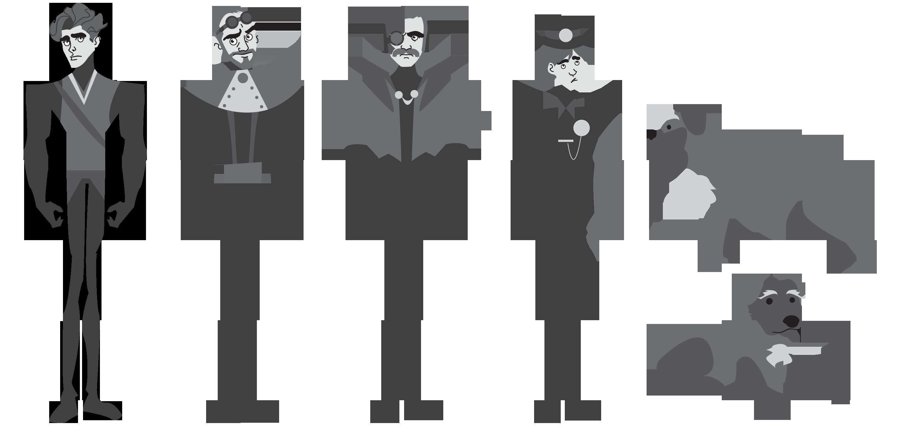Character Design Lineup