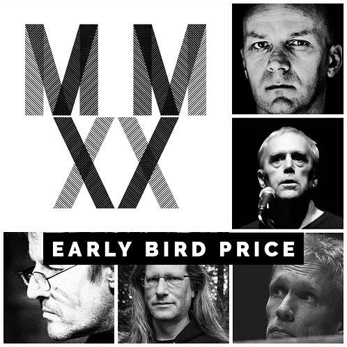 MMXX BUNDLE 1 (5 VINYLS): VIGROUX / DUNCAN / VON HAUSSWOLFF / VAN HOUDT / MENCHE