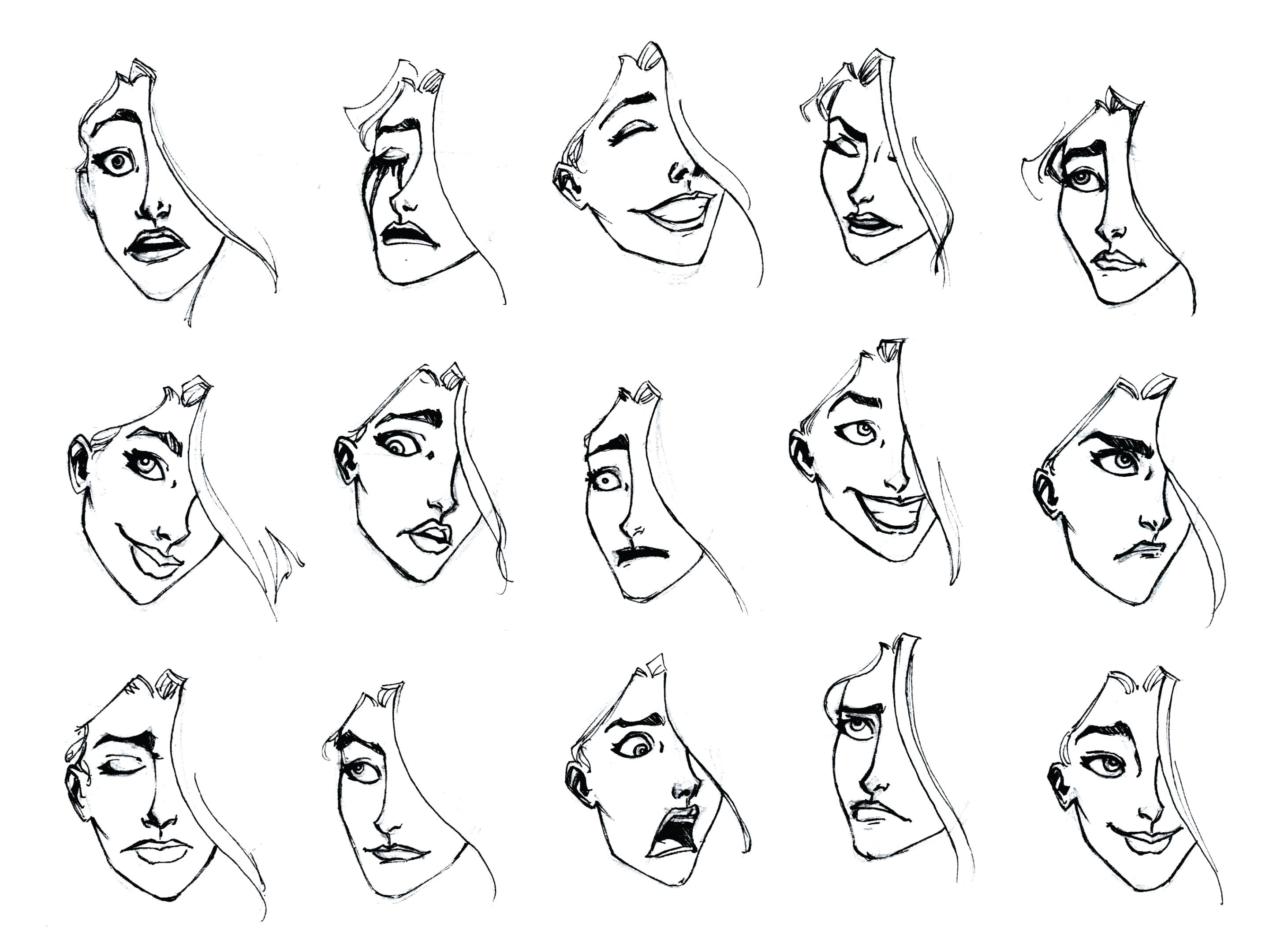 Valery expression sheet