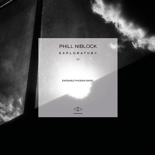 PHILL NIBLOCK - EXPLORATORY VOL 2 - LIMITED EDITION 300 COPIES - CLEAR RED VINYL