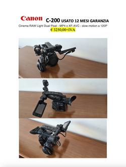 Canon C-200