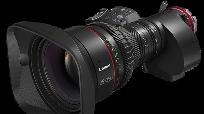 Canon CINE-SERVO 25-250mm