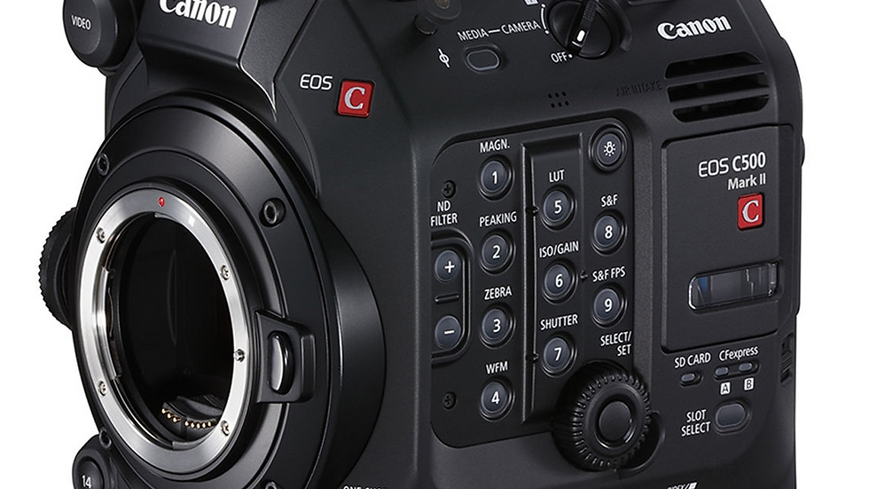 EOS C500 MK II