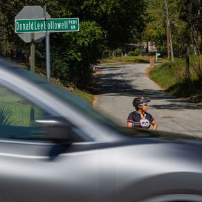 'Relief' comes to Hollowell Parkway as crosswalk installed on deadly stretch of road