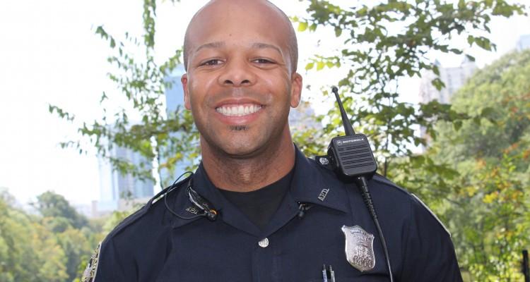 Senior Police Officer Eric King Headshot outside