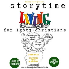 Living Single: LGBTQIA + Christian Event