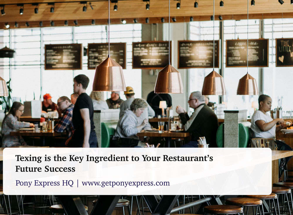 Texting is the Key Ingredient to Your Restaurant's Future Success