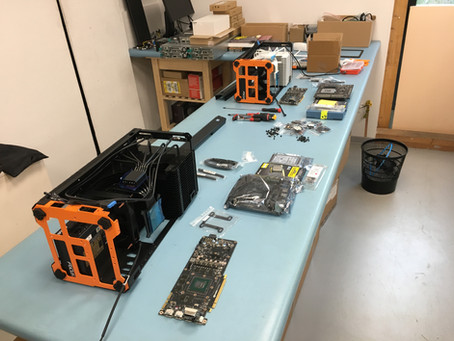 28 Jan - i9 9900k and P5000 assembly
