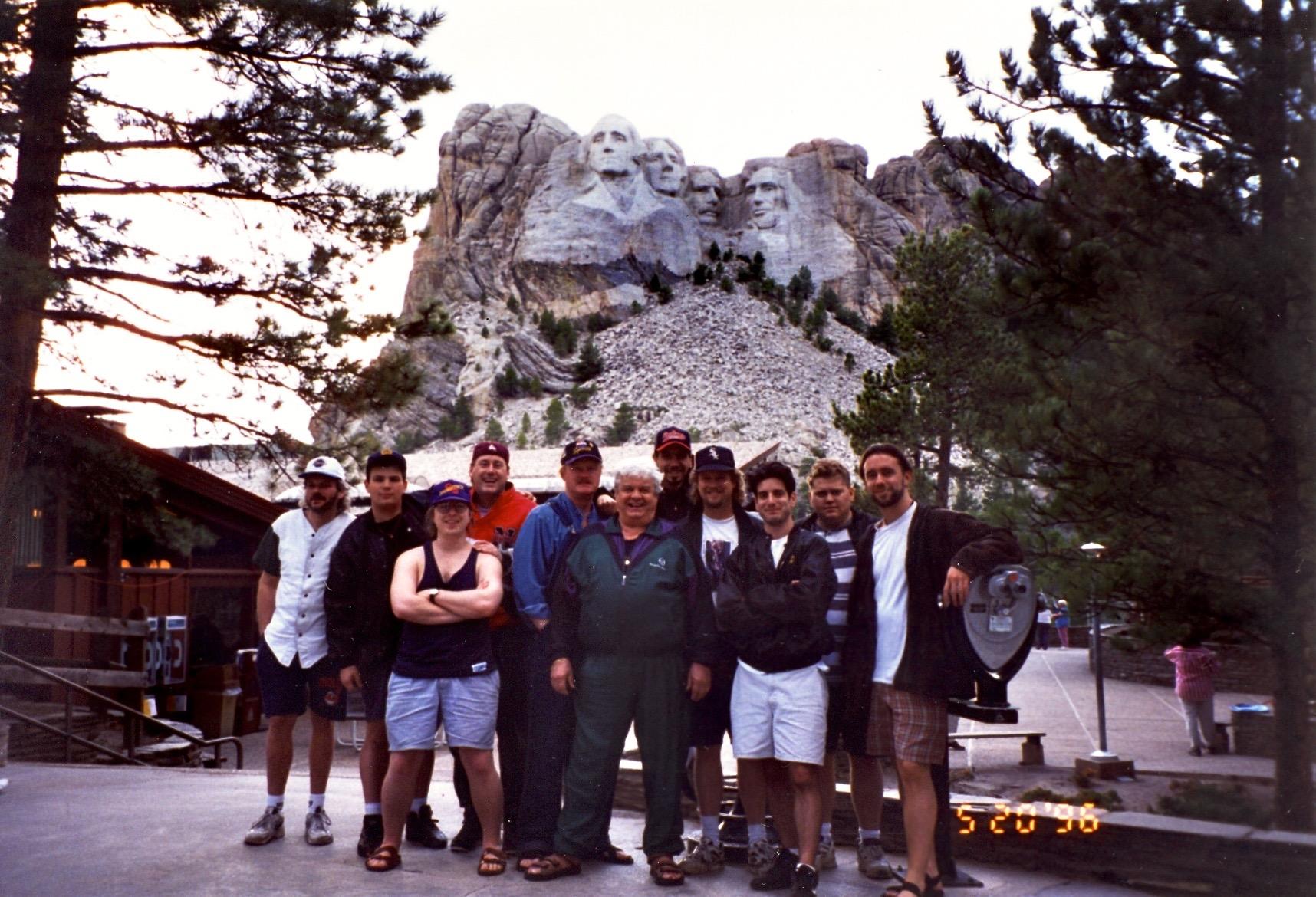 Mt. Rushmore w/ Maynard's band