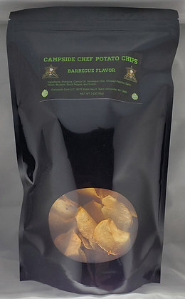 Gourmet Barbecue Spiced Potato Chips