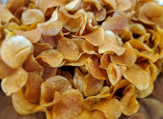 Gourmet Steakhouse Spiced Potato Chips (One Pound Bag)