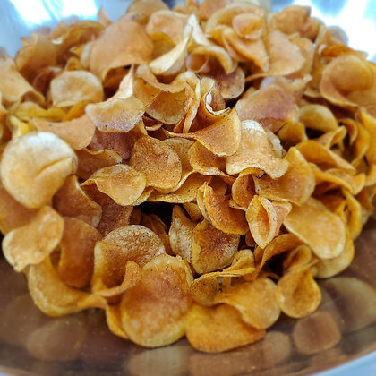 Gourmet Citrus Pepper Spiced Potato Chips (One Pound Bag)