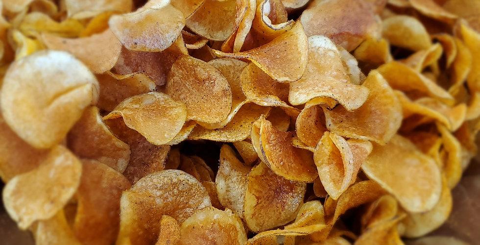 Gourmet Citrus Pepper Spiced Potato Chips (One Pound Bag)