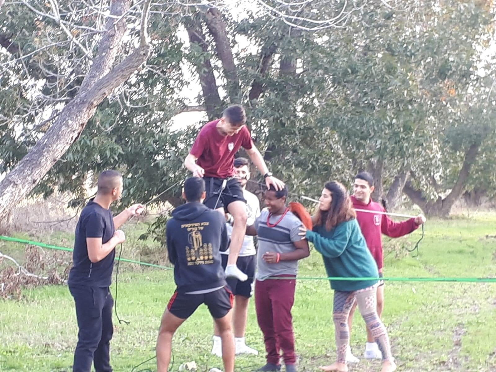 מחזור ח׳ שלוחת בית אסף בפעילות outdoor ב