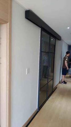mount automatic door