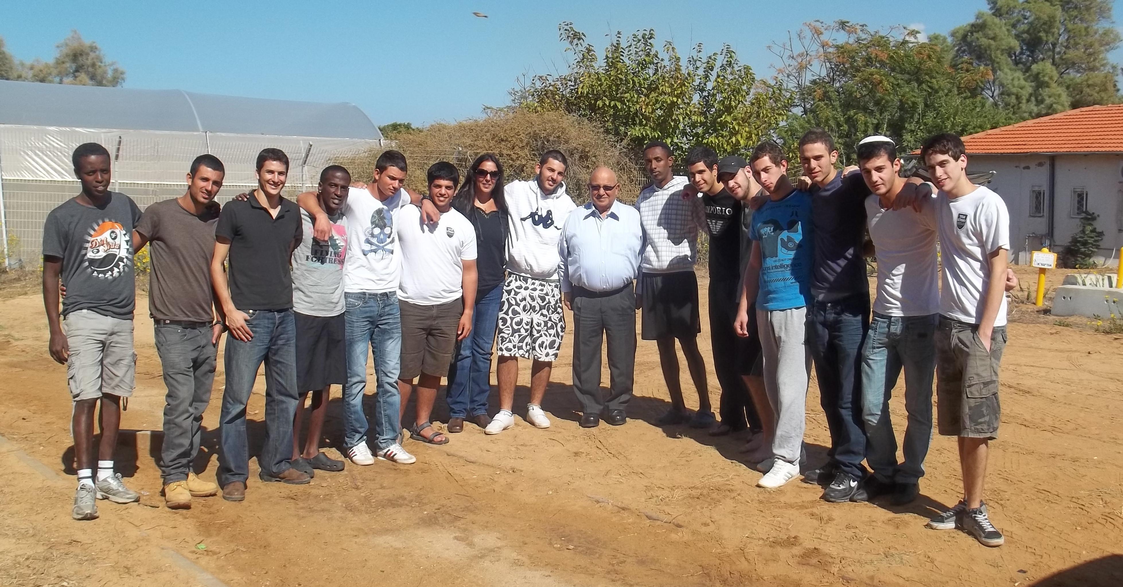 מחזור א' ביקור מאיר דגן 31.10.2011