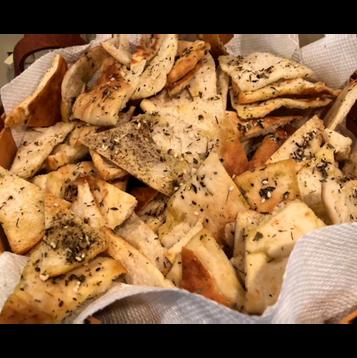 Garlic Pita Bread