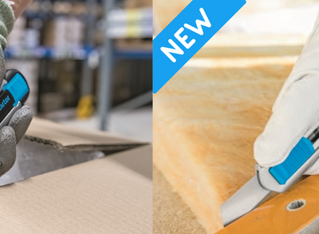 NEW PRODUCT ALERT! Versatile, robust, and specialised safety knives