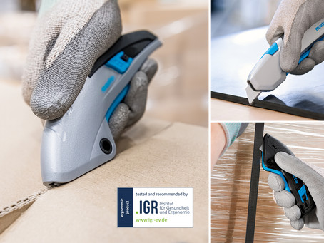 MARTOR Safety Knives awarded renowned IGR Seal of Quality.