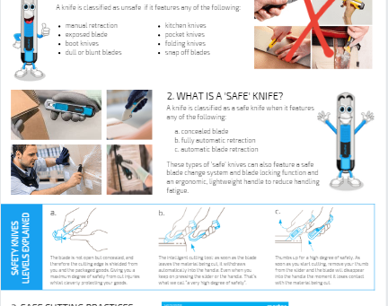 Toolbox Talk - Knife Safety in the Workplace