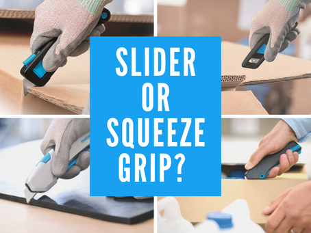 Slider or Squeeze Grip - which one is right for you?