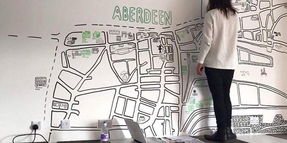 Design Thinking and Visualizacion de Ideas para la Ciudad