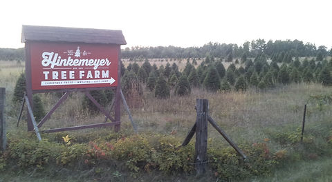 Welcome to Hinkemeyer Tree Farm, 10 minutes North of St. Cloud