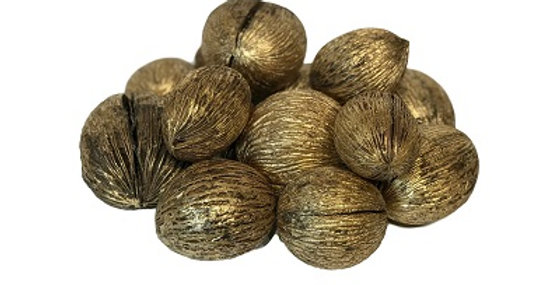 41073 14 Mintola Ball Brushed Gold 3-4 inch