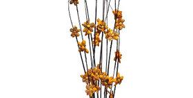 41022 12 Stem Ting Lara Flower Branches - Tangerine