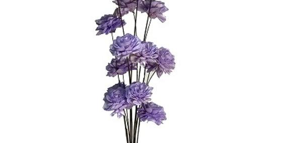 41155 15 Stem Lavender Marigold Drop-in Bouquet