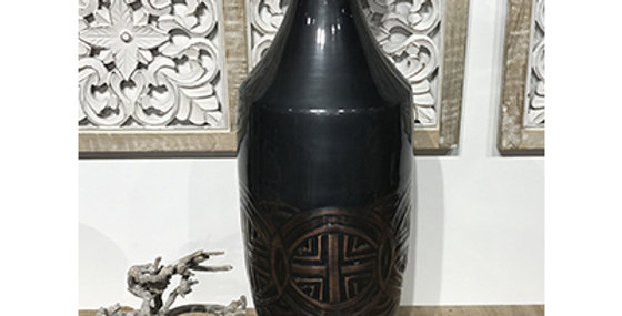 52006 Large Imperial Vase-Antique Copper