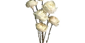 41174 7 Stem Tea Rose Drop-in Bouquet