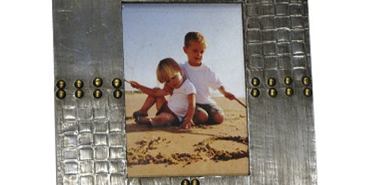 30012 Rivet 5x7 Wooden Photo Frame