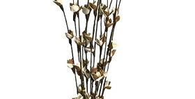 41180 12 Stem Sweet Pea Branch Drop-in Bouquet