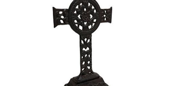 51035 Cast Iron Cross on Pedestal