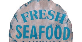 695535 FRESH SEAFOOD SHELL WALL