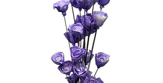 41157 24 Stem LAVENDER American Beauty Rose Drop-in Bouq