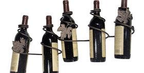 81588 Grapevine 5 Bottle Wine Rack-Meteor-21588