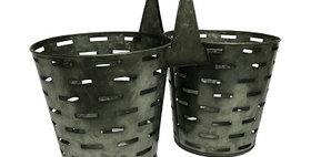50028 Double Olive Bucket Planter