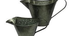 50039 Set of 2 Graphite Olive Oil Pitcher