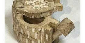 60072 Spice Box-White Washed Wood