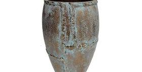65002 Caribbean Copper Round Vase