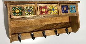 79018 Fiesta 3-Drawer Wall Hook Cabinet