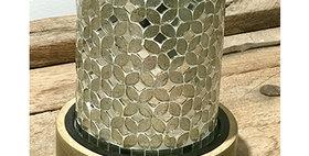 64010 Abalone Cylinder Candleholder