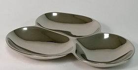 55016 3-SECTION Serving PLATE