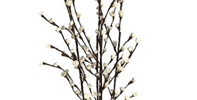 41181 5 Stem Rose of Sharon Branch Drop-in Bouquet