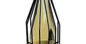 89605 Tall Cork Holder-Textured Bronze-19605