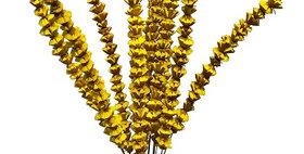 41025 12 Stem Bakuli Flower Branches - Sunkist