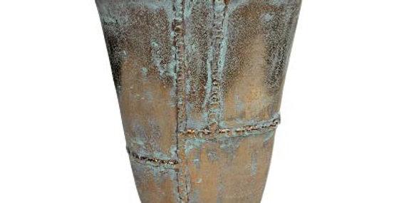 65005 Caribbean Copper Large Oval Vase